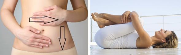 Облегчение состояния массажем и упражнениями