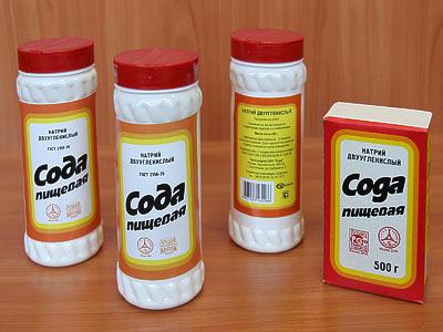 сода пищевая от глистов
