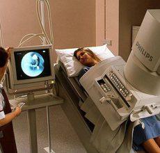 Проведение процедуры рентгена кишечника с барием