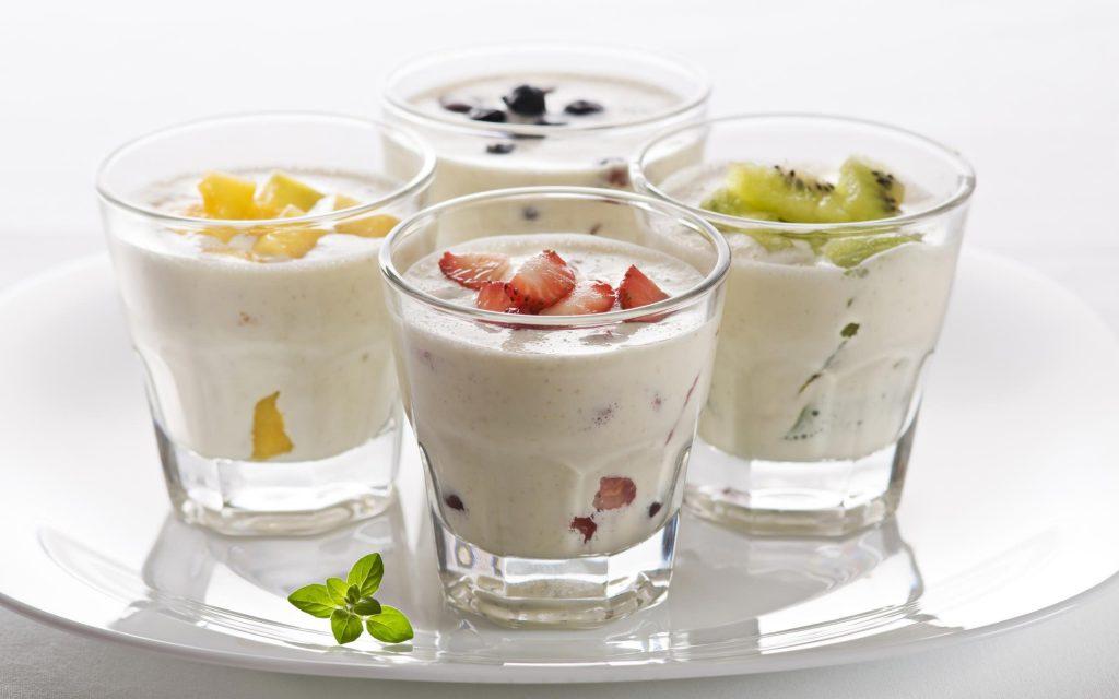 Йогурты при эрозии