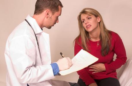 Постановка диагноза у врача