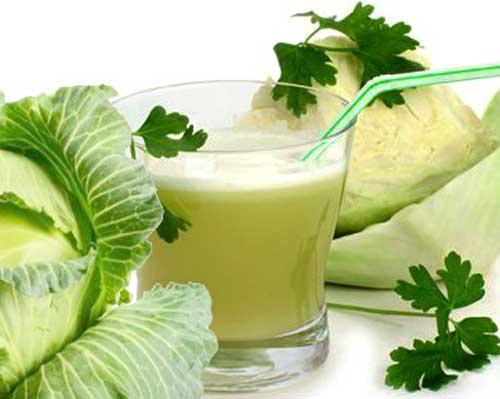 Сок белокочанной капусты