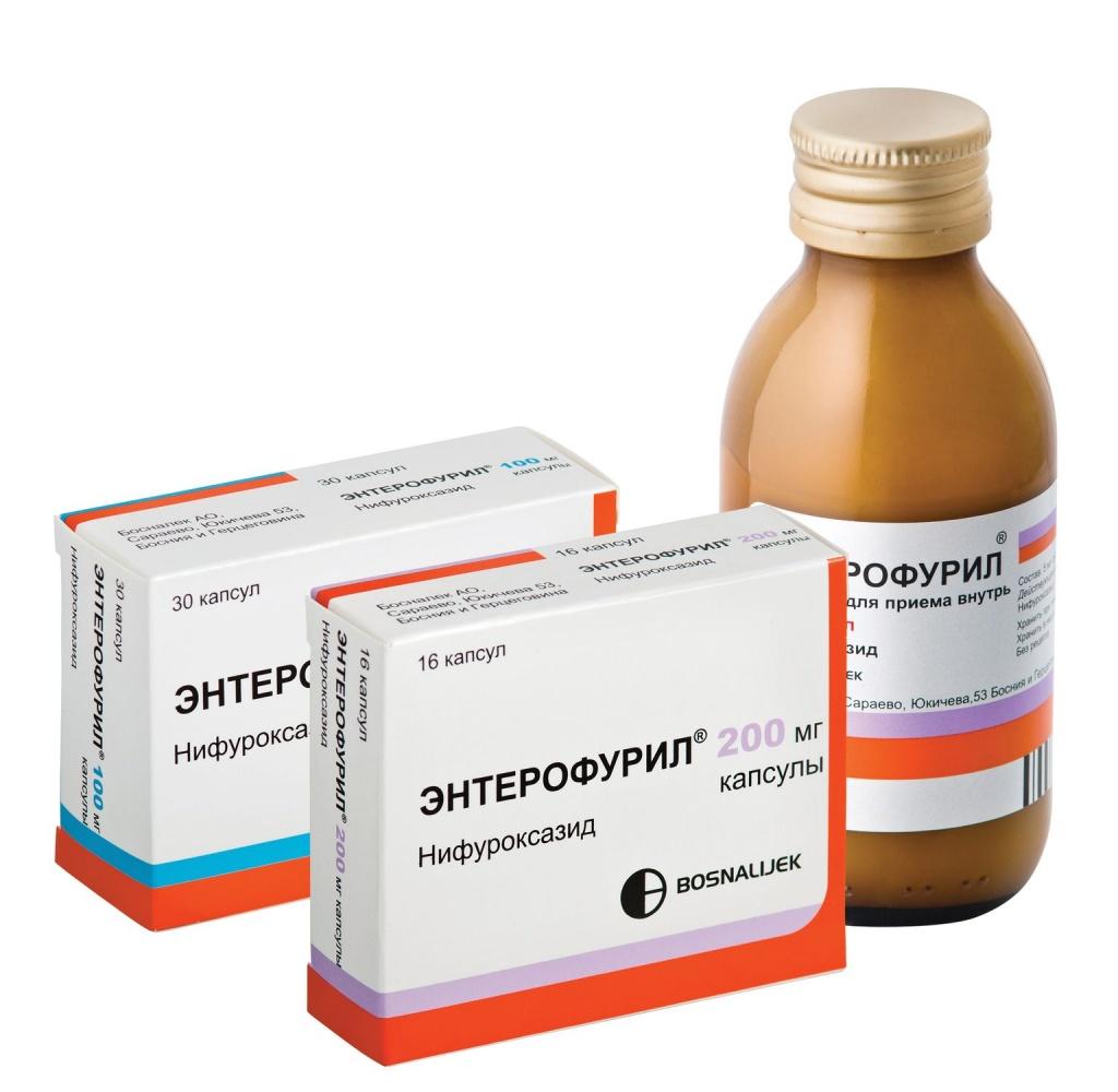 Лекарство от кишечных инфекций