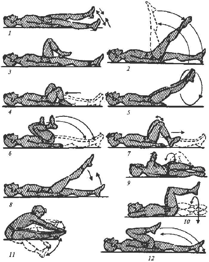 Физические упражнения для улучшения работы кишечника