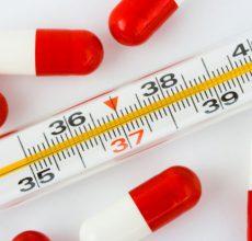 Чем сбить температуру при кишечной инфеции?