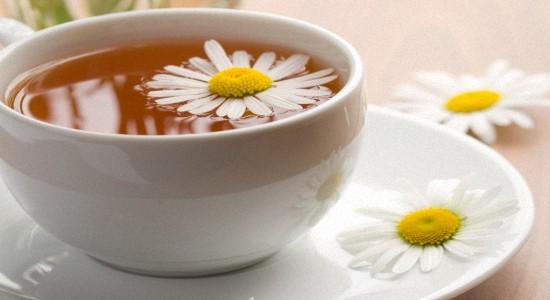 Рекомендован чай из ромашки