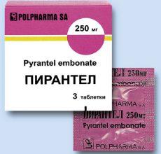 Помогут ли таблетки Пирантела от глистов?