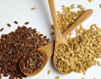 Применение семян льна для очищения кишечника