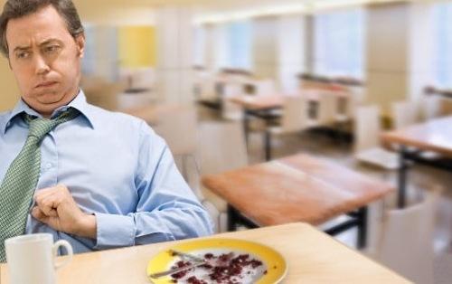Излишек воздуха в желудке после еды