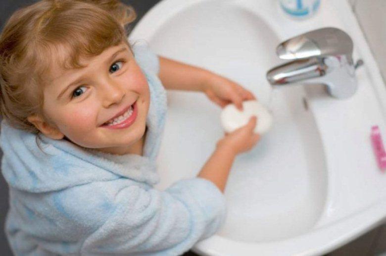 Обязательное мытье рук перед едой