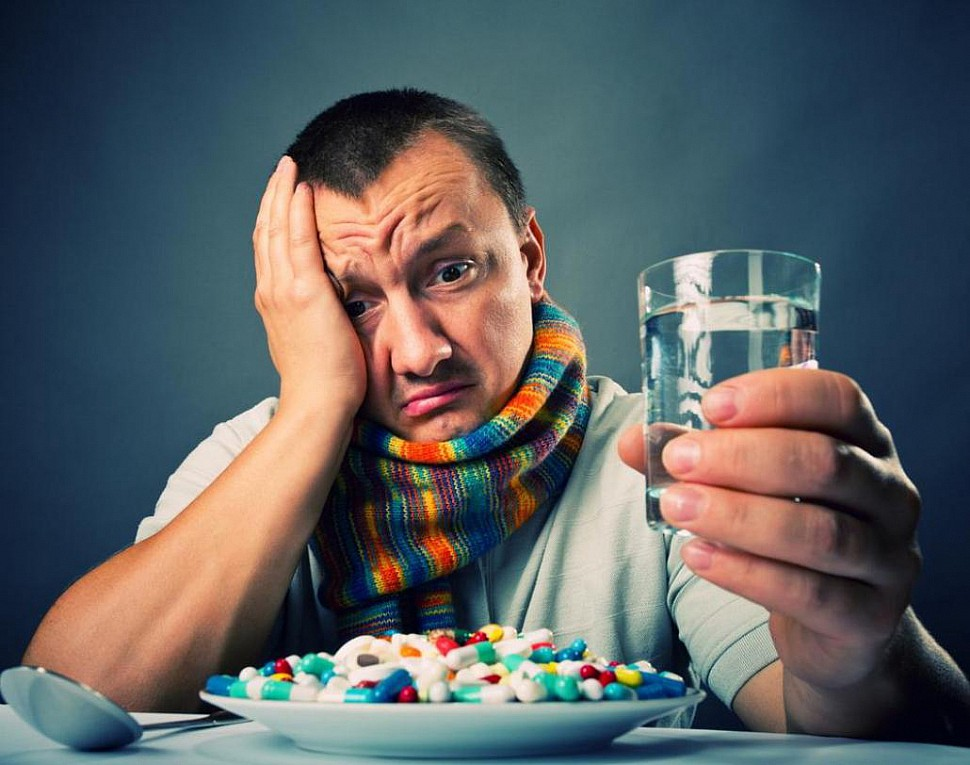 Лекарства могут тяжело влиять на печень