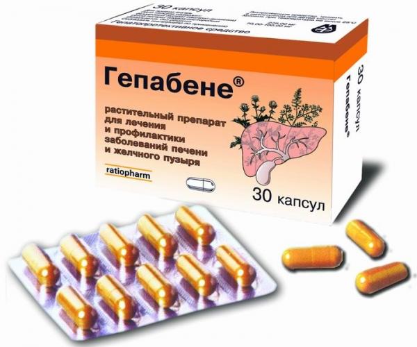 Растительный препарат Гепабене