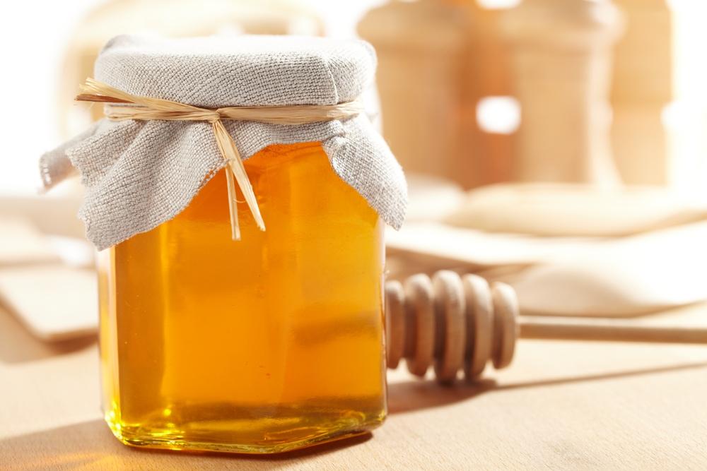 Баночка с медом