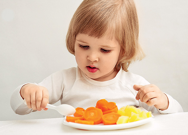 Ребенок должен правильно питаться
